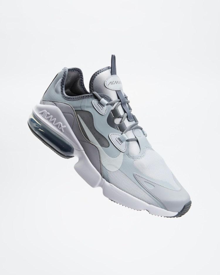Nike Air Max Infinity 2 Mens Lifestyle Sneakers Pure Platinum, Pure Platinum & Wolf Grey