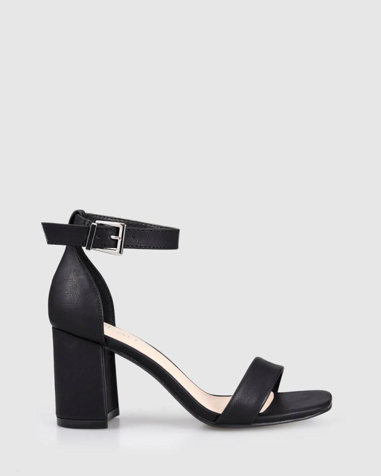 Verali Keeley Heels Black
