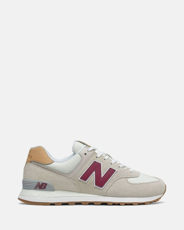 New Balance 574 Standard Fit Men's Low Top Sneakers Timberwolf
