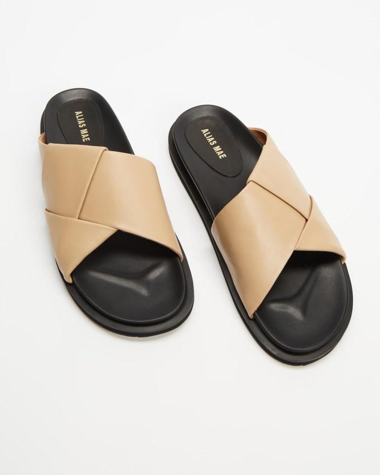 Alias Mae Solaris Sandals Natural Leather