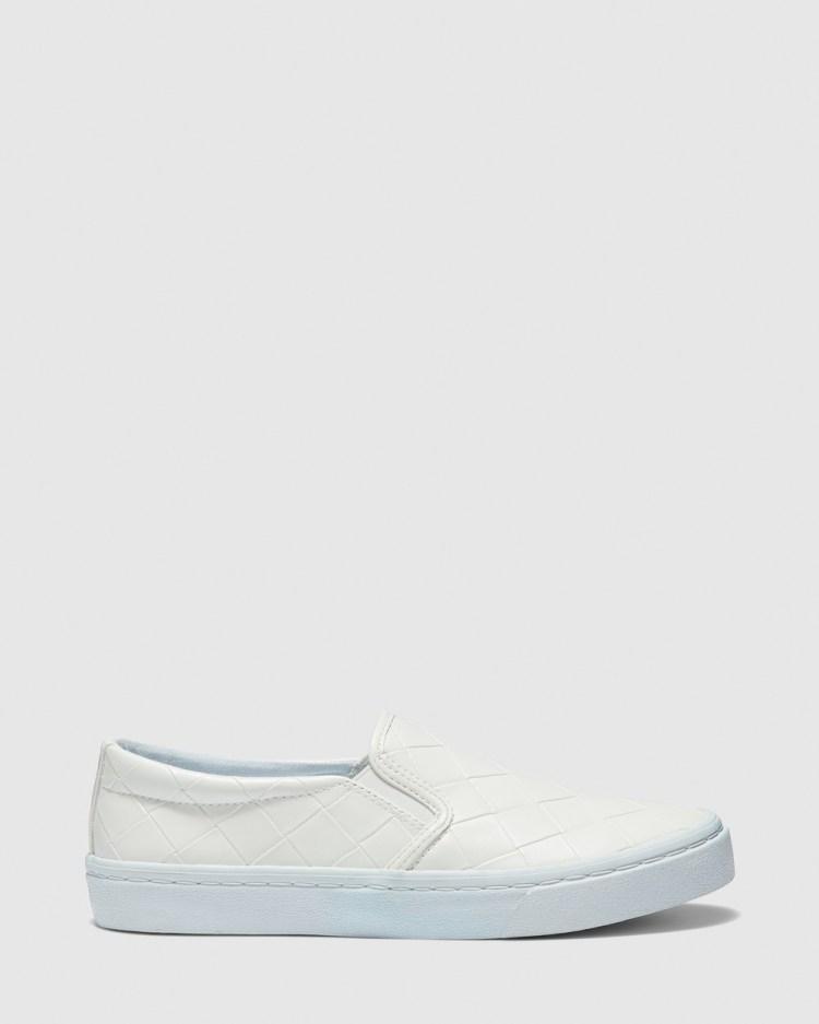 Novo Camilio Slip-On Sneakers White