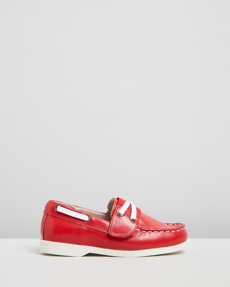 Little Fox Shoes Richmond Loafers Casual Red