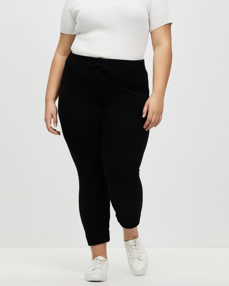 DP Curve Loungewear Joggers Pants Black