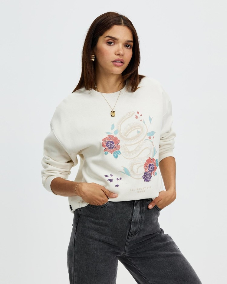 All About Eve Serpent Sweater Sweats Natural