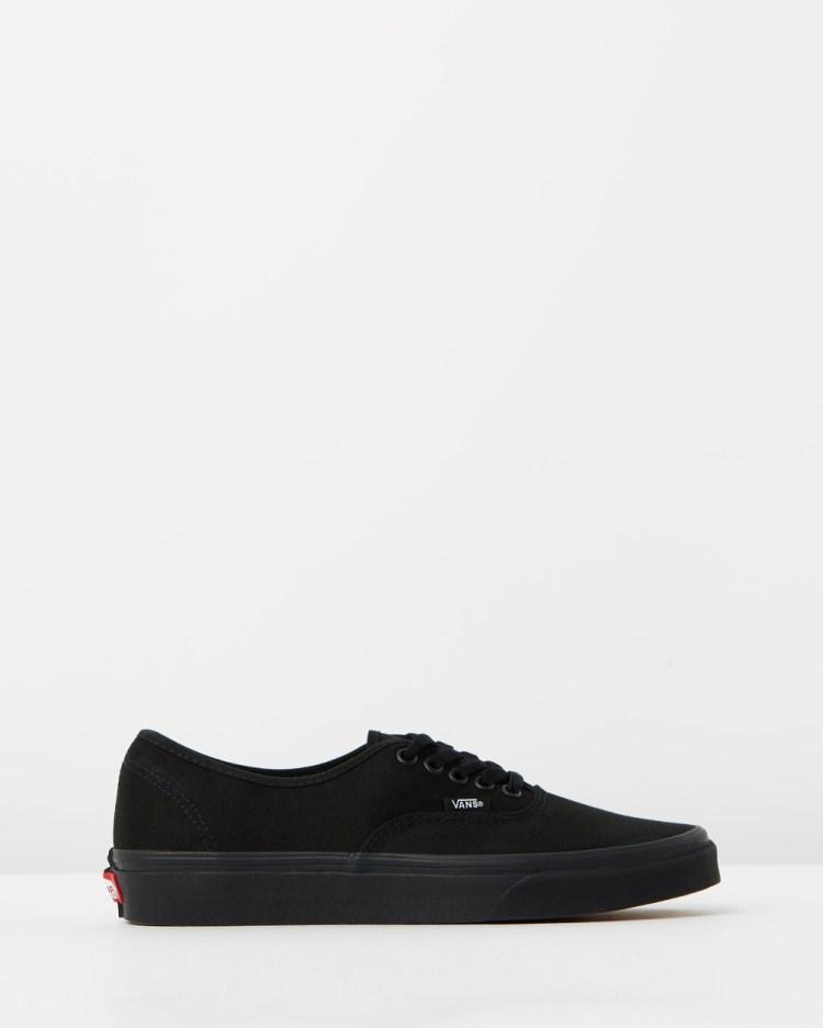 Vans Authentic Unisex Sneakers Black & Black