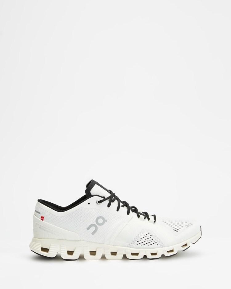 On Running Cloud X Men's Performance Shoes White & Black
