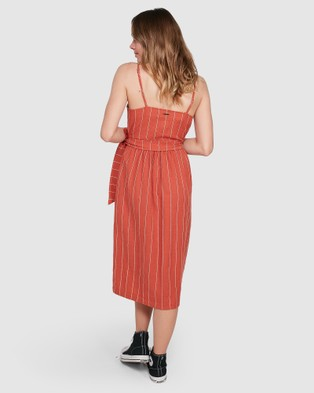 Element - Sundays Dress - Dresses (RED RUST) Sundays Dress