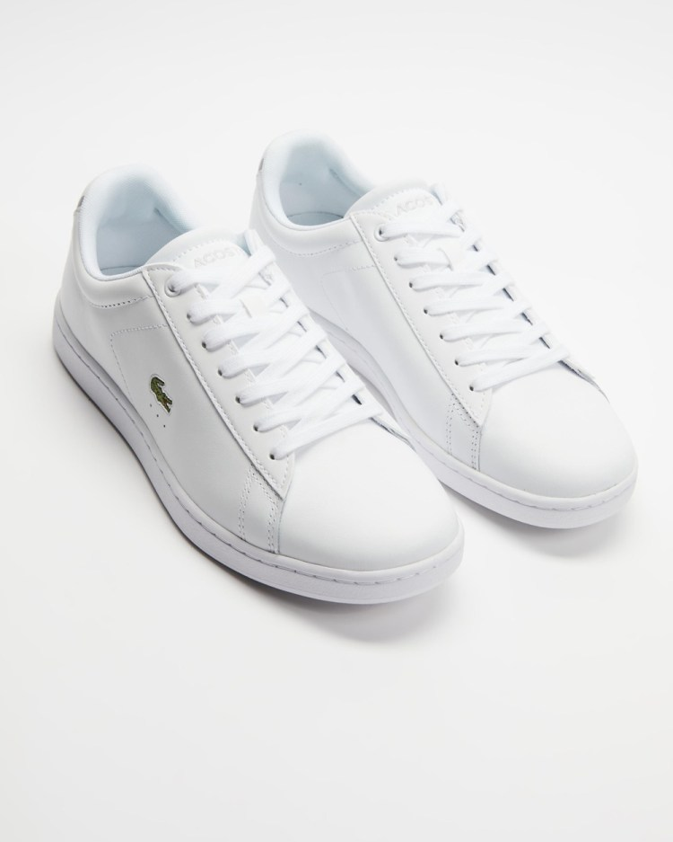 Lacoste Carnaby Evo BL 1 Women's Sneakers White & White