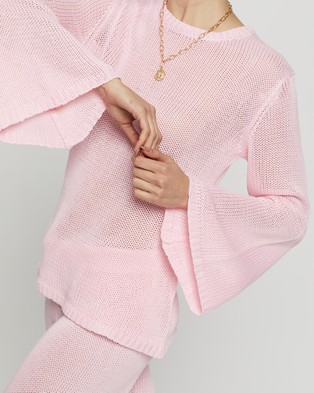 Dazie - Girl Crush Knit Jumper - Jumpers & Cardigans (Pink) Girl Crush Knit Jumper