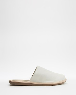 AERE Organic Canvas Slippers & Accessories Natural