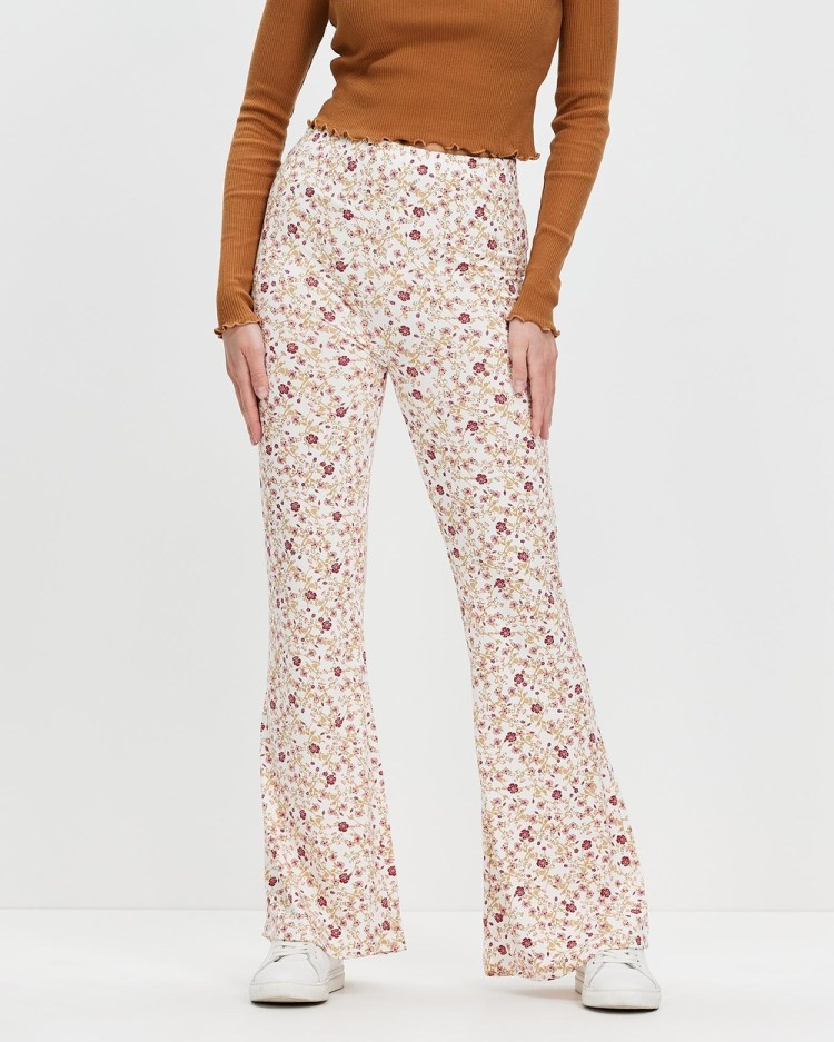 All About Eve Tilly Flare Pants Multicoloured