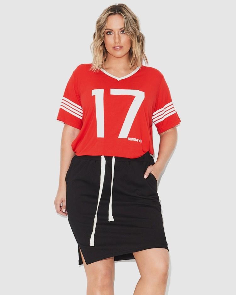 17 Sundays Sports Skirt Skirts Black
