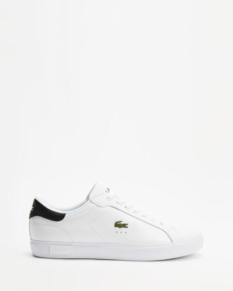 Lacoste Powercourt 0121 Men's Sneakers White & Black