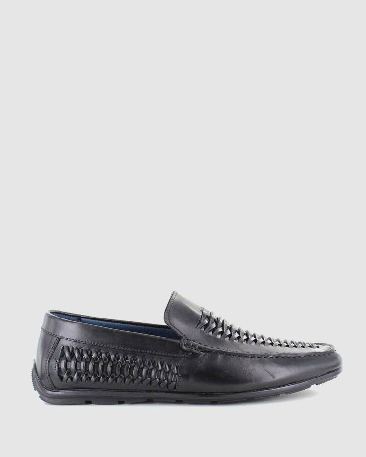 Wild Rhino Coach Casual Shoes Black