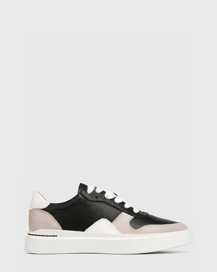 Wittner Slater Leather Sneakers Lifestyle Black