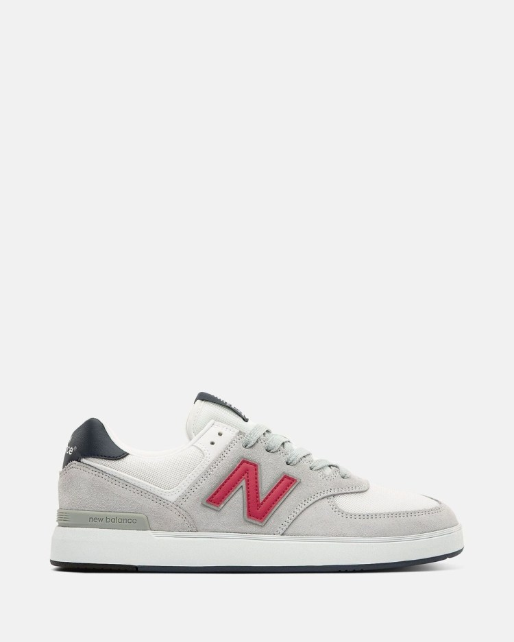 New Balance All Coasts AM574 Standard Fit Men's Low Top Sneakers Grey