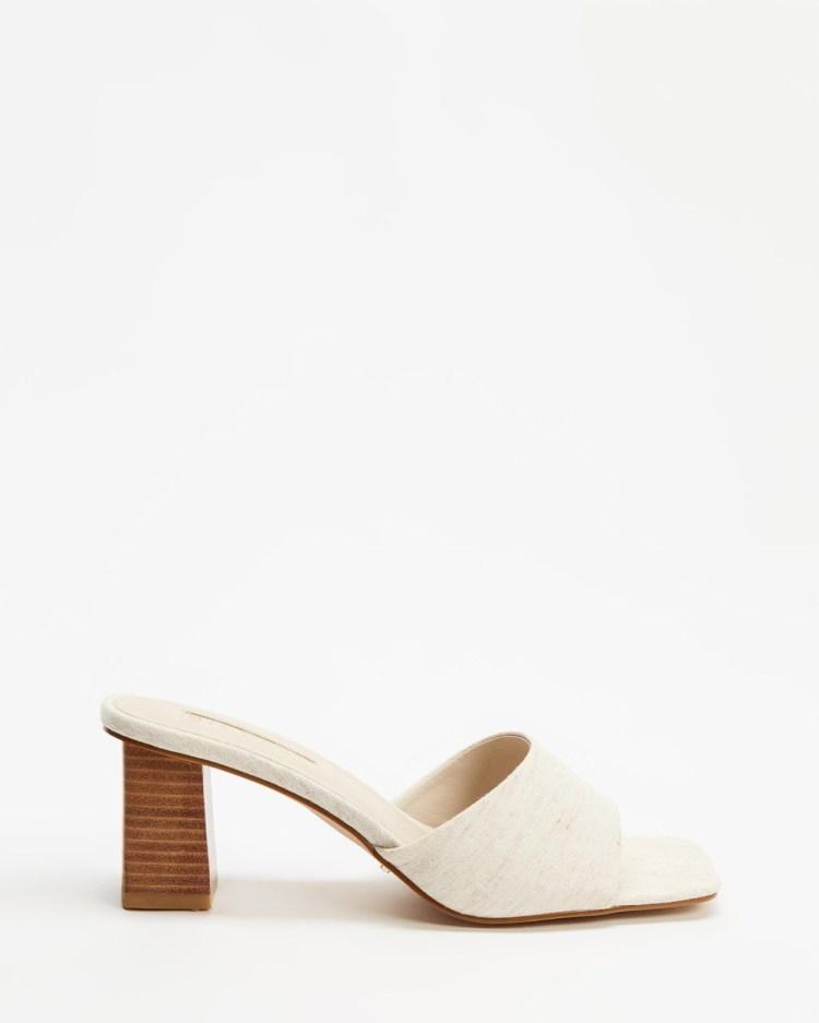 Billini Ulani Mid-low heels Natural Linen & Natural
