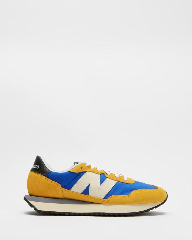 New Balance Classics 237 Men's Lifestyle Sneakers Cobalt Blue & Aspen