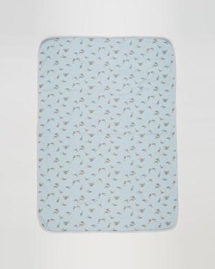 Bebe by Minihaha Callum Bunny Rug Babies Wraps & Blankets Callum Print