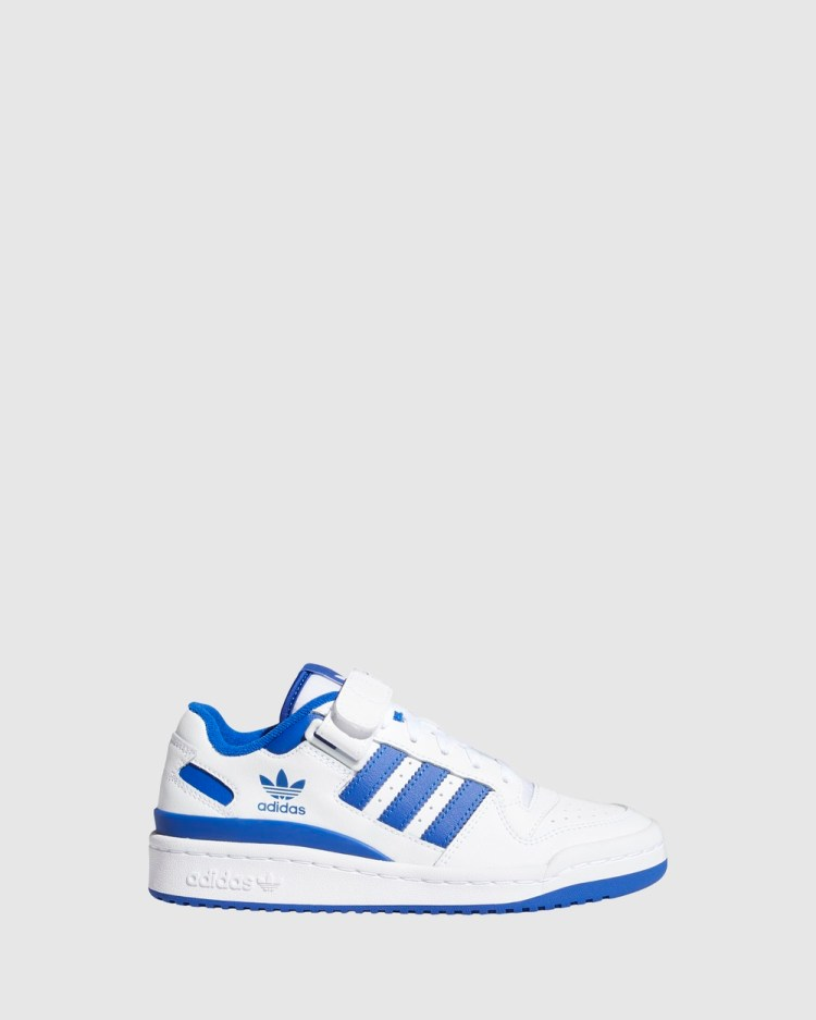 adidas Originals Forum Low Grade School Sneakers White/Team Royal