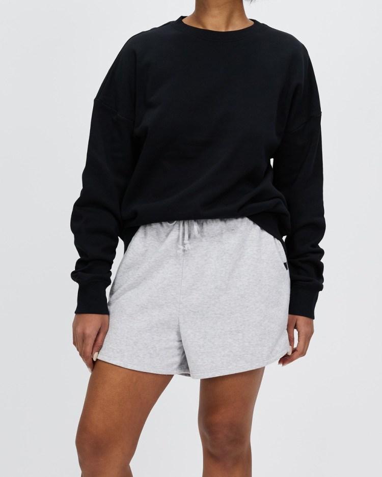 Bonds Long Pullover Sweats Black