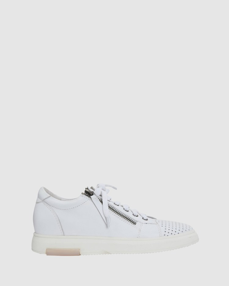 Jane Debster Carson Sneakers WHITE