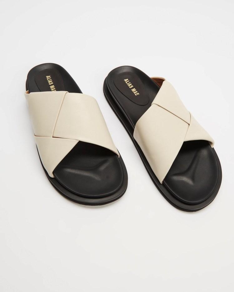 Alias Mae Solaris Sandals Bone Leather