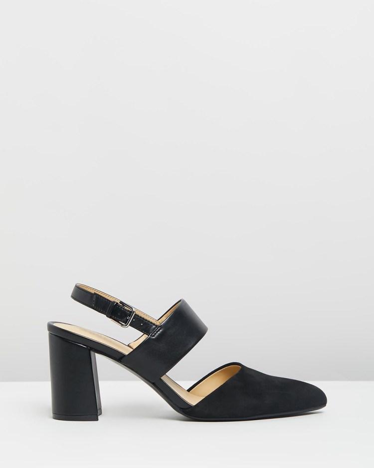 Naturalizer Suzie Block Heel All Pumps Black