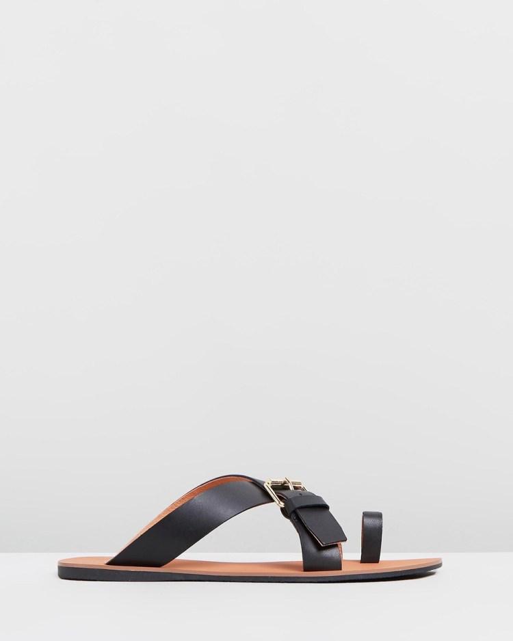 IRIS Footwear Sienna Sandals Black