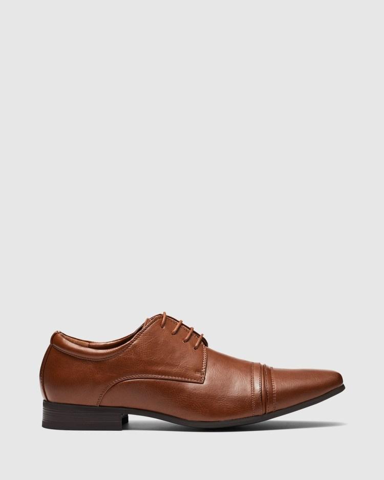 Uncut Bartell Dress Shoes TAN