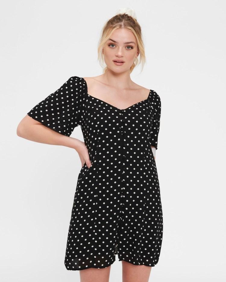ids Sunny Dress Dresses Black