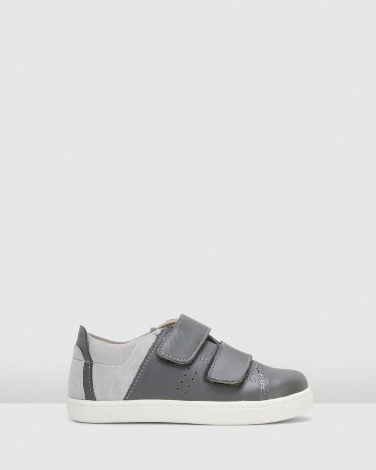 Old Soles Toko Shoes Flats Grey/Grey Suede