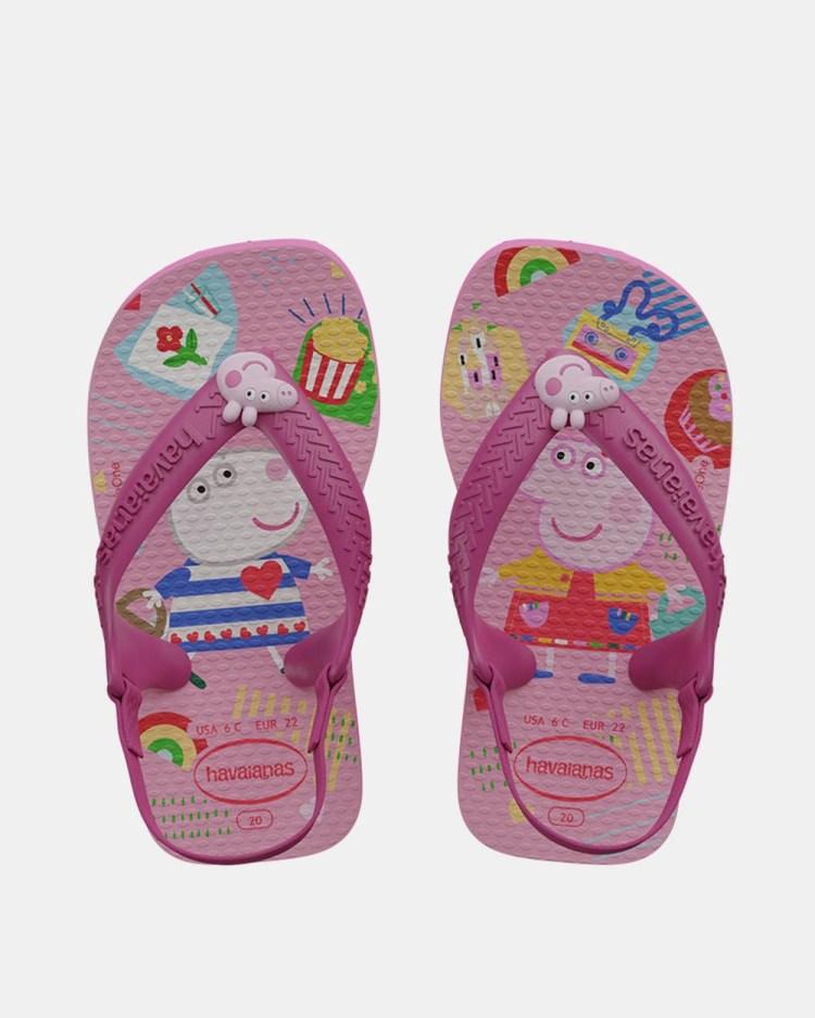 Havaianas Peppa Pig Babies All thongs Pink Flux