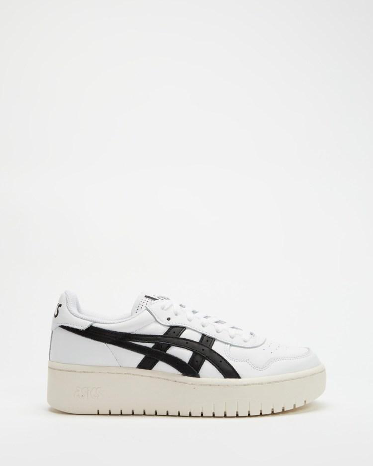 ASICS Japan S Platform Women's Lifestyle Sneakers White & Black