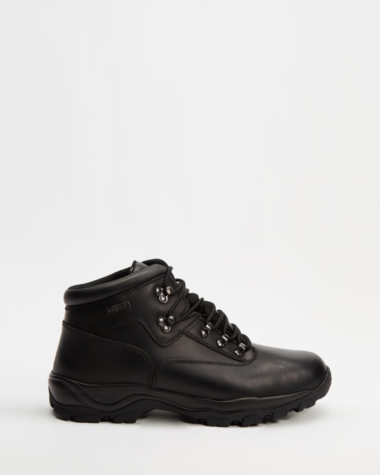 Staple Superior Hiking Boots Outdoor Shoes Black