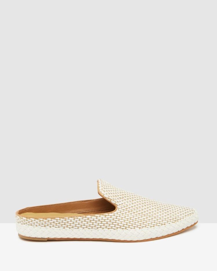 Dolce Vita Odis Natural Raffia Casual Shoes Natural Raffia