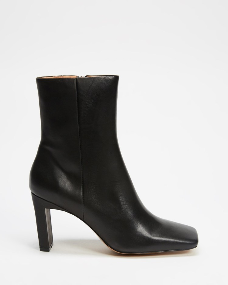 Alias Mae Yolanda Boots Black Burnished