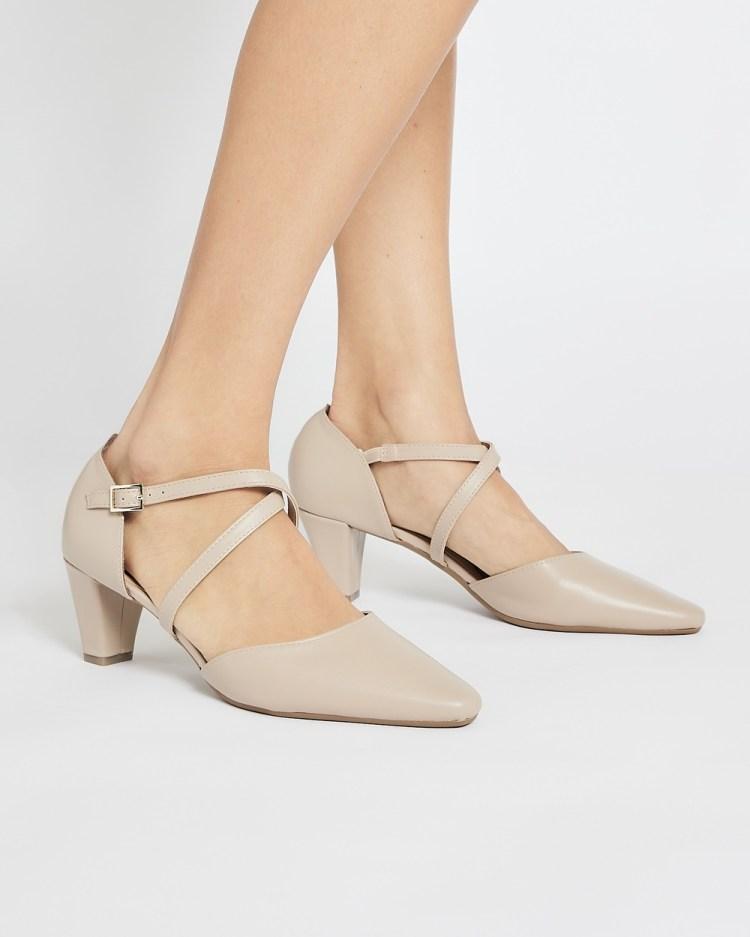 Easy Steps Adison Mid-low heels NUDE