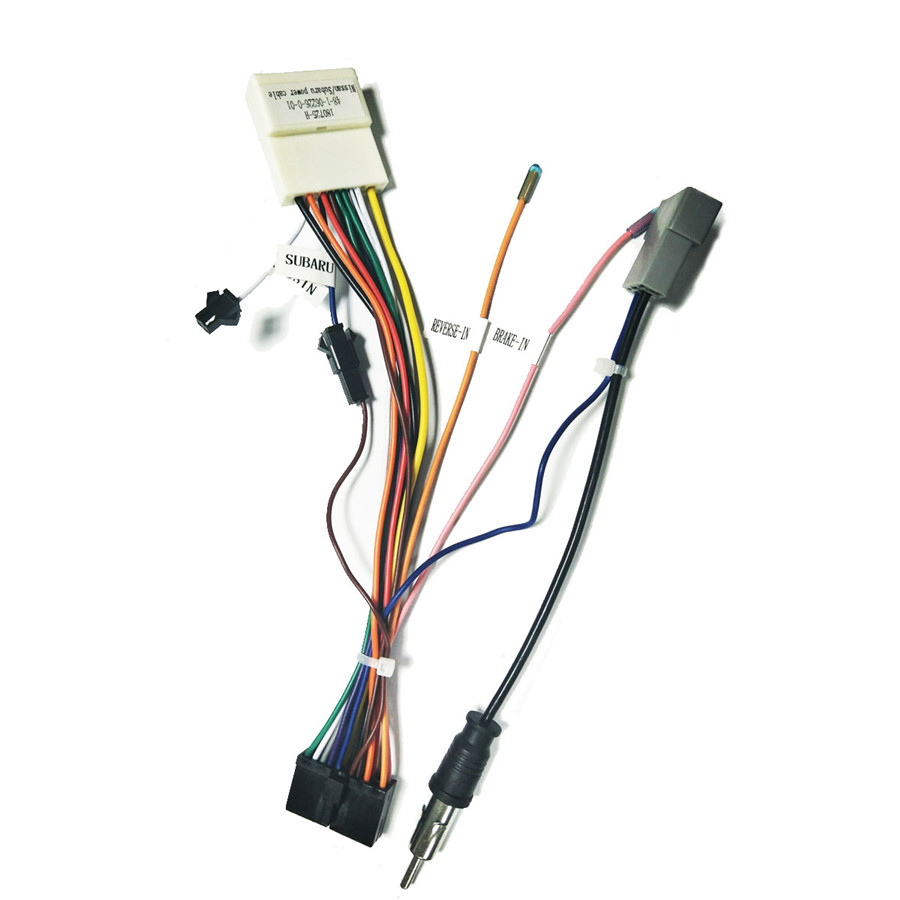 hight resolution of details about car stereo 20pin wiring harness connector adapter android power cable for nissan