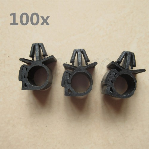 small resolution of details about 100x car wiring harness fastener lock loom wire cable hose clip tie wrap holder