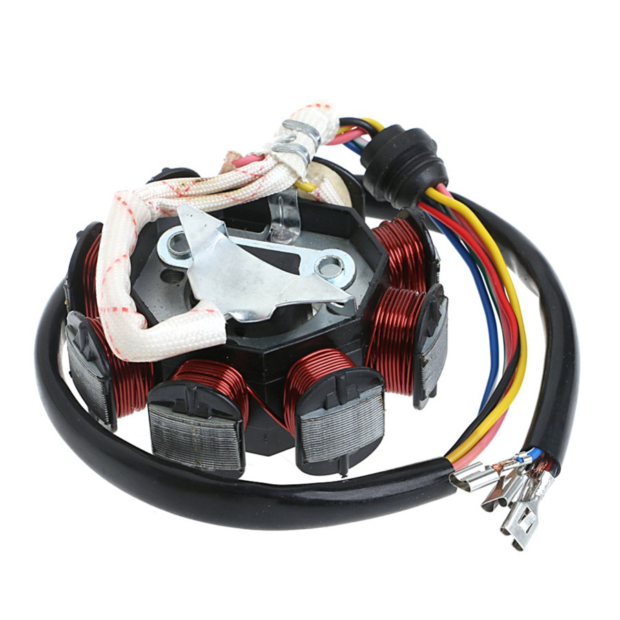 hight resolution of 125 250cc motorcycle stator cdi coil electric wiring harness loom assembly kit