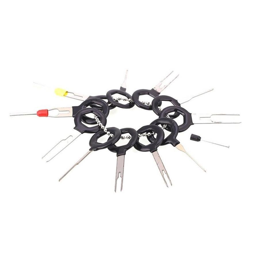 60Pcs Car Electrical Terminal Plug Wiring Connector Pin