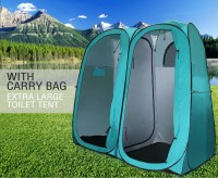 Outdoor Camping Portable Pop-Up Twin Duo Ensuite Shower ...