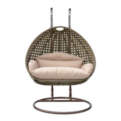 Egg Swing Chair Barber Chairs Antique 2 Person Wicker Basket Patio Outdoor