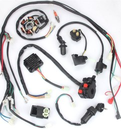 details about electric wiring harness kit magneto stator for gy6 125cc 150cc atv quad scooter [ 900 x 900 Pixel ]