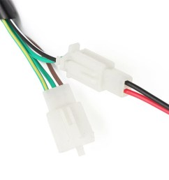 universal wiring harness loom solenoid coil rectifier cdi 50 70 90 110 125cc atv quad bike go kart [ 900 x 900 Pixel ]