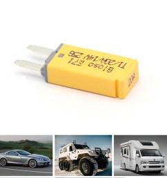 details about dc 20 amp atm mini circuit breaker car fuse atc blade style circuit breaker [ 1200 x 1200 Pixel ]