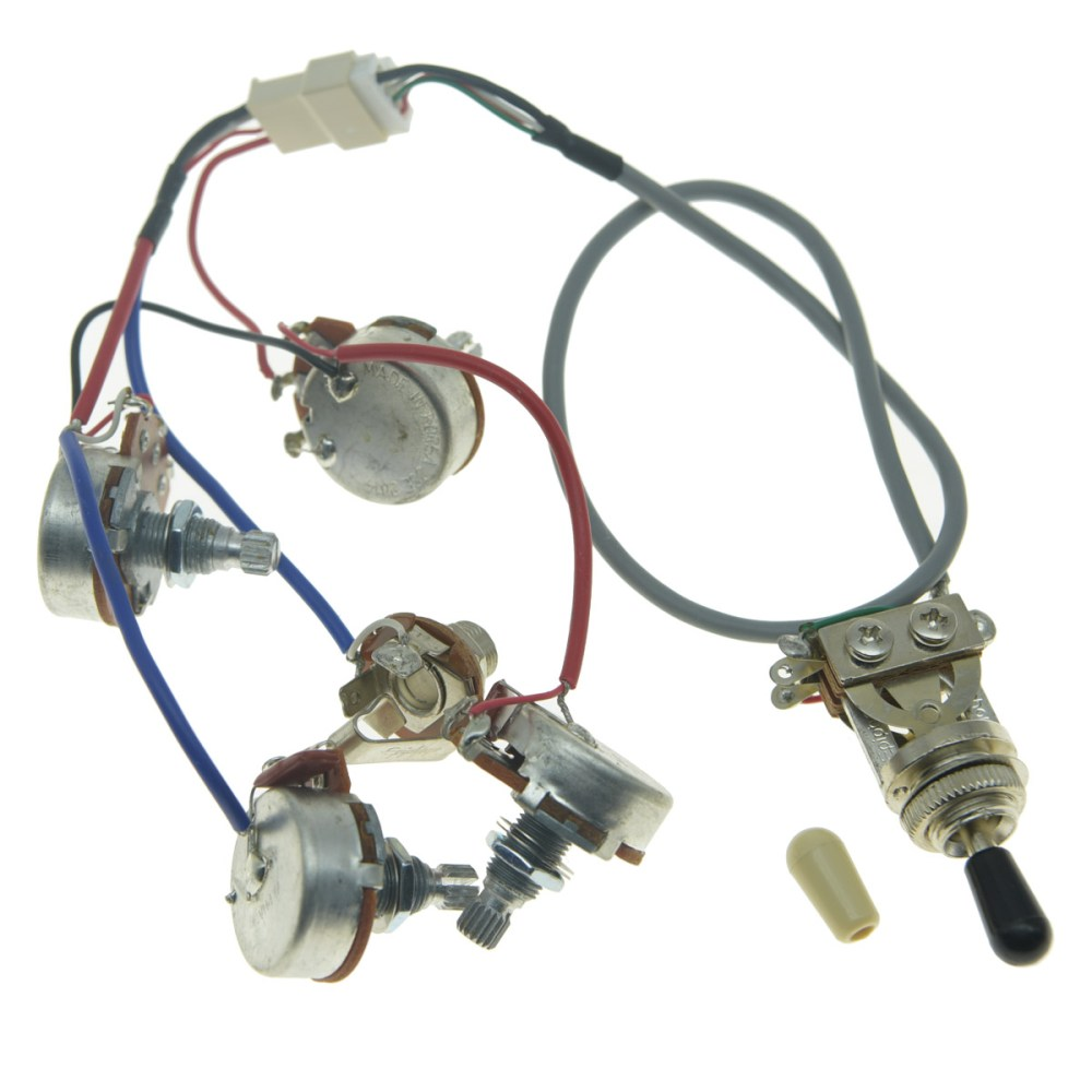medium resolution of details about genuine lp pickups wiring harness with full size pots for epiphone les paul