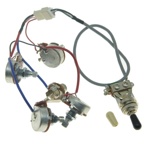small resolution of details about genuine lp pickups wiring harness with full size pots for epiphone les paul