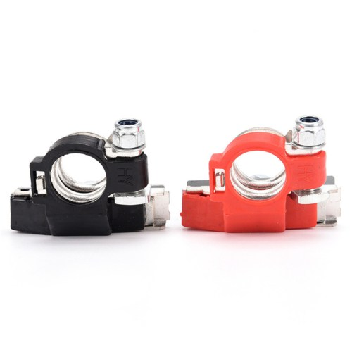 small resolution of details about pair battery terminal heavy duty car vehicle quick connector cable clamp clip